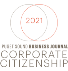 Puget Sound Business Journal Corporate Citizenship 2021